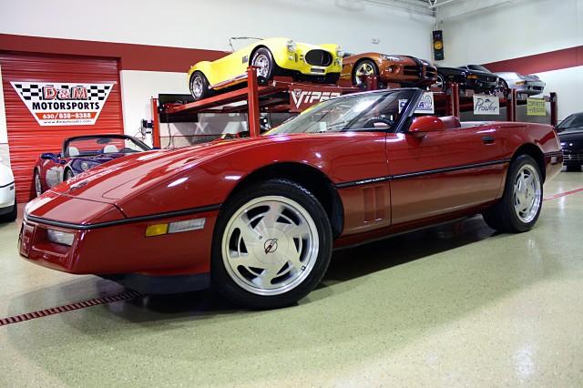1988 Chevrolet Corvette Convertible Stock M4133 For Sale