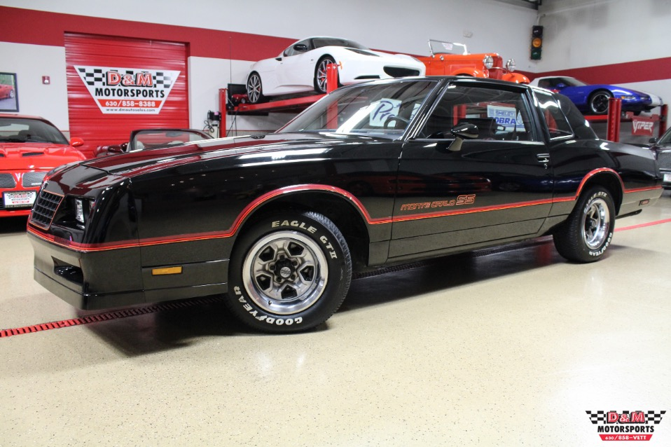 1985 Chevrolet Monte Carlo Ss Stock M6338 For Sale Near