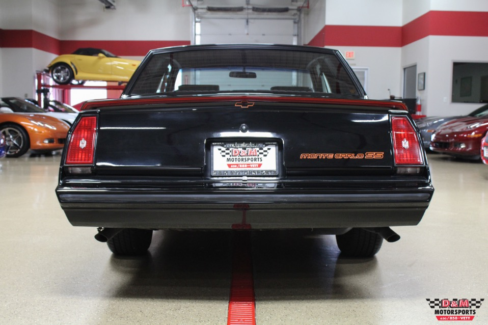 1985 chevrolet monte carlo ss 32609 miles black used chevrolet monte carlo for sale in glen. Black Bedroom Furniture Sets. Home Design Ideas