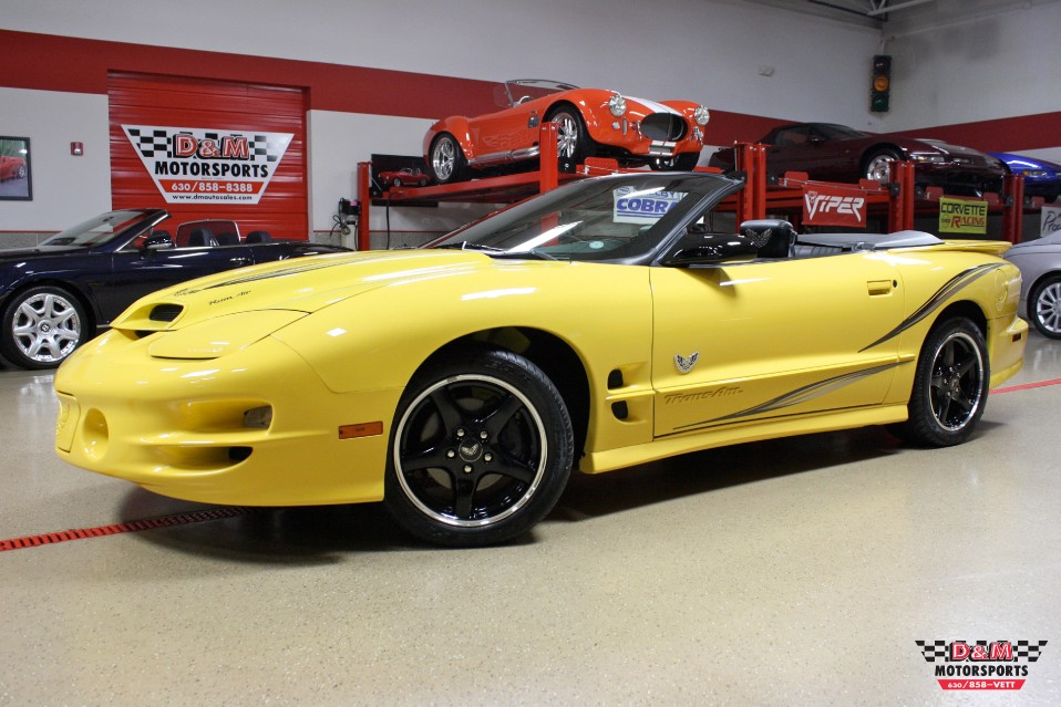 2002 Pontiac Firebird Trans Am Collector Edition Stock # M5403 for ...