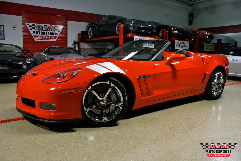 2010 chevrolet corvette grand sport convertible stock m5410 for sale near glen ellyn il il. Black Bedroom Furniture Sets. Home Design Ideas