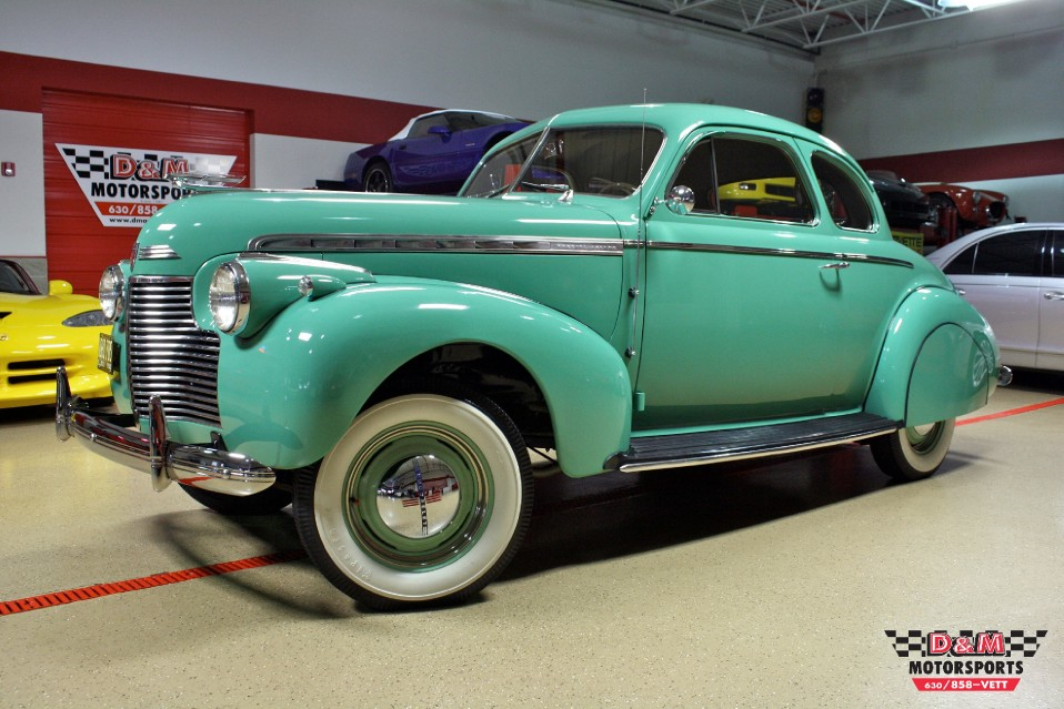 1940 Chevrolet Special Deluxe Sport Coupe Stock M5411