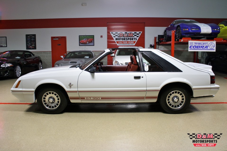 1984 ford mustang gt 20th anniversary stock m5481 for sale near glen ellyn il il ford dealer