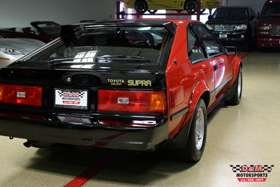 1983 Toyota Celica Supra Stock M5455 For Sale Near Glen
