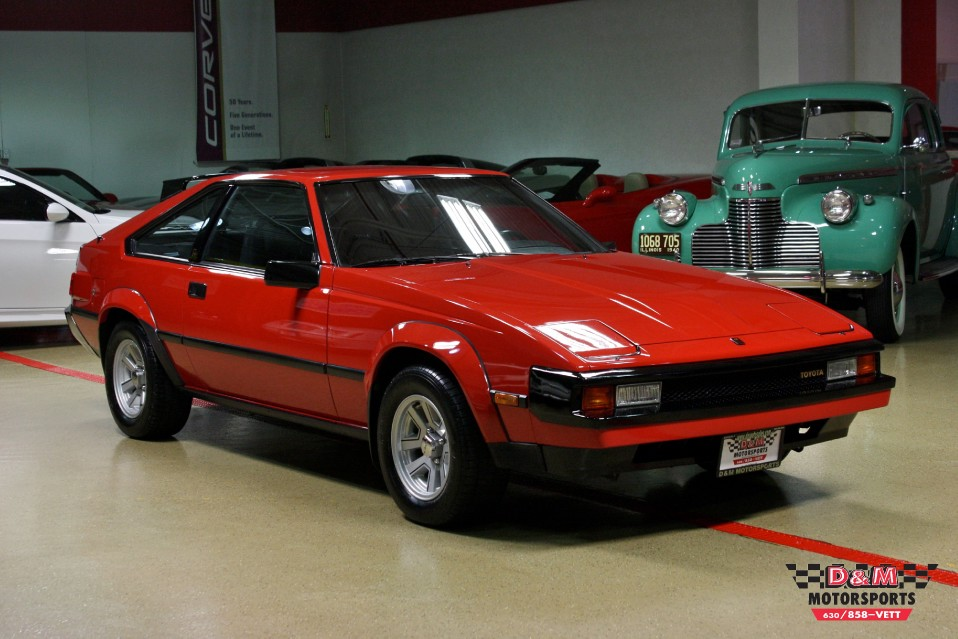 Toyota Dealer Chicago >> 1983 Toyota Celica Supra Stock # M5455 for sale near Glen Ellyn, IL | IL Toyota Dealer
