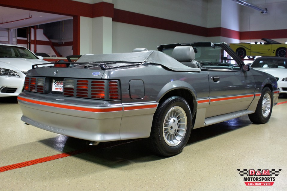 Used 1987 Ford Mustang Gt Convertible Glen Ellyn Il