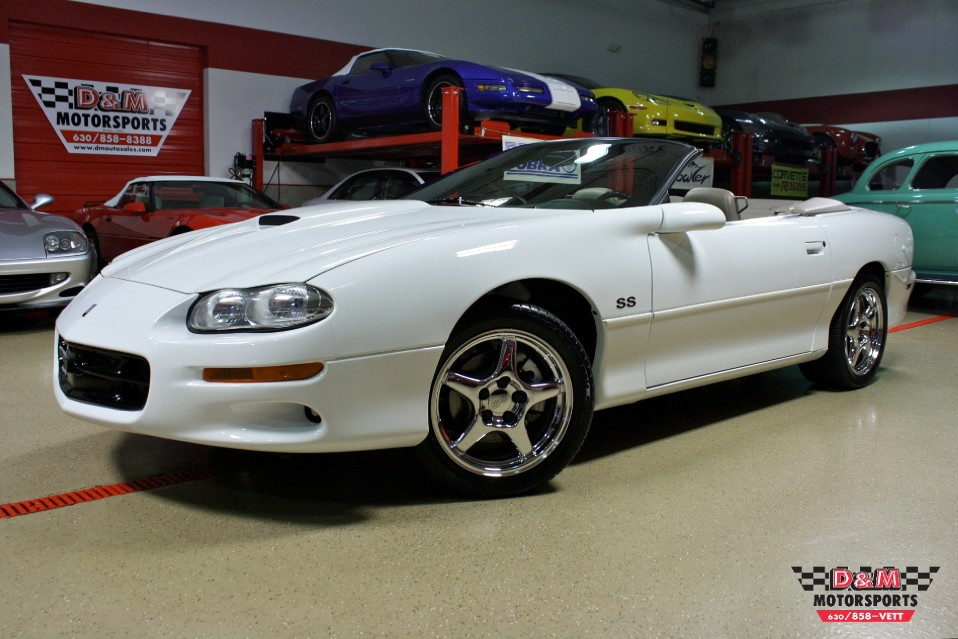 2002 chevrolet camaro ss convertible stock m5472 for. Black Bedroom Furniture Sets. Home Design Ideas