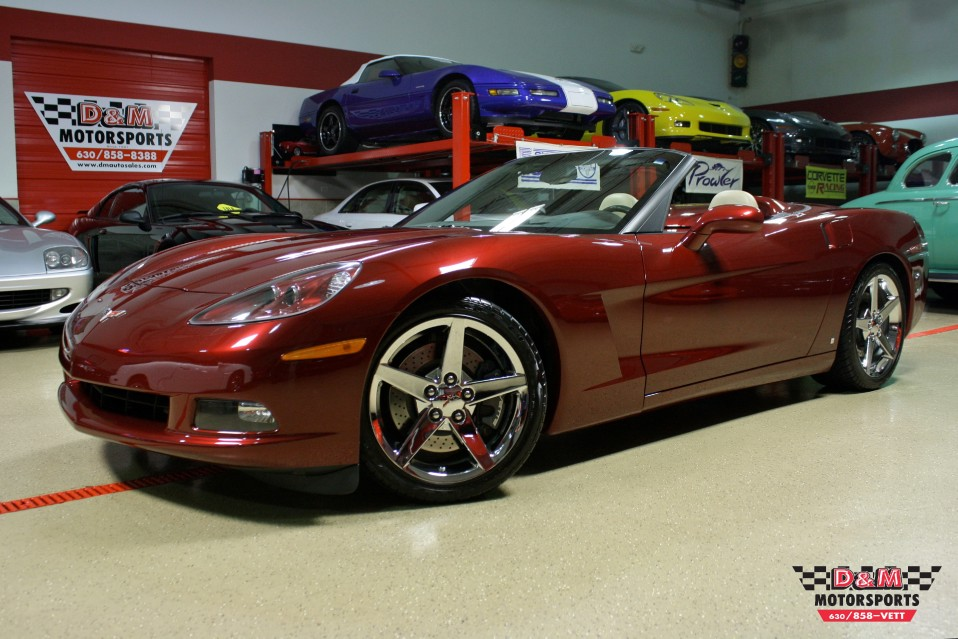 2007 Chevrolet Corvette Convertible Stock M5473 For Sale
