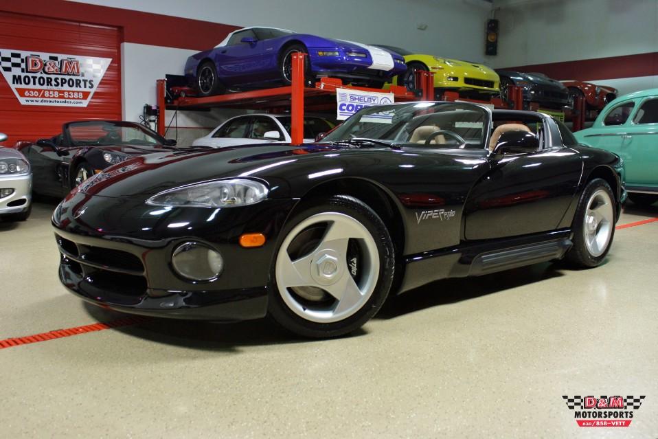 Rt 9 Auto Sales >> 1995 Dodge Viper RT/10 Stock # M5475 for sale near Glen Ellyn, IL | IL Dodge Dealer