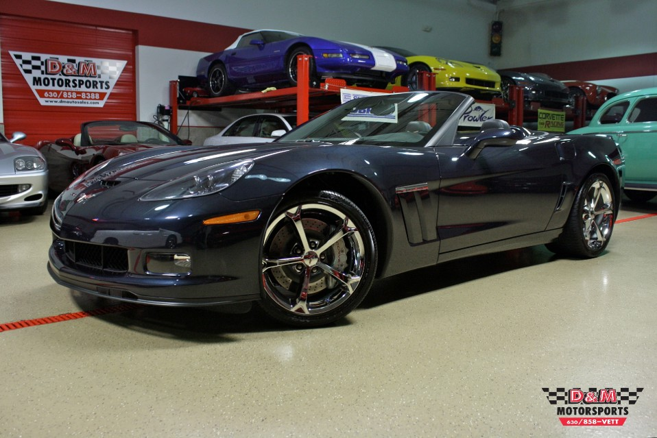 2013 chevrolet corvette grand sport convertible stock m5474 for sale near glen ellyn il il. Black Bedroom Furniture Sets. Home Design Ideas