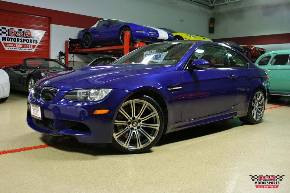 2009 bmw m3 coupe stock m5478 for sale near glen ellyn. Black Bedroom Furniture Sets. Home Design Ideas